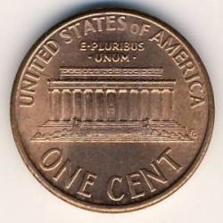 Münze > 1Cent, 1983-2008 - USA  (Lincoln Memorial Cent) - reverse