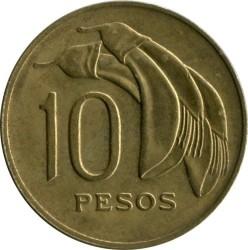 Monedă > 10peso, 1969 - Uruguay  - reverse