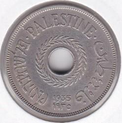 Pièce > 20mils, 1927-1941 - Palestine  - obverse