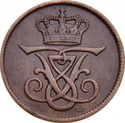 Coin > 1ore, 1907 - Denmark  - obverse