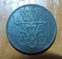 Münze > 5Öre, 1907 - Dänemark   - reverse