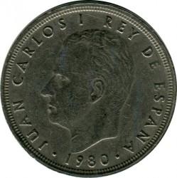 Moneda > 50pesetas, 1980 - España  - reverse
