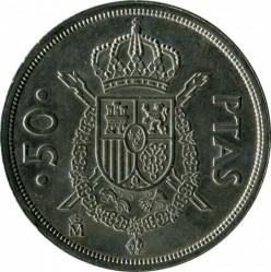 Coin > 50pesetas, 1982 - Spain  - obverse