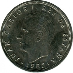 Coin > 50pesetas, 1982 - Spain  - reverse