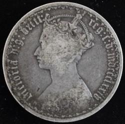 Moneta > 2szylingi(floren), 1852-1887 - Wielka Brytania  - obverse