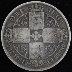 Moneta > 2szylingi(floren), 1852-1887 - Wielka Brytania  - reverse