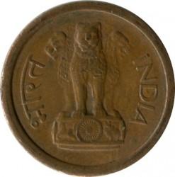 Mynt > 1nypaisa, 1957-1961 - India  - obverse