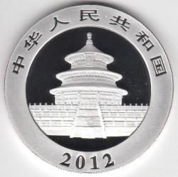 Moneta > 10yuan, 2012 - Cina  (Panda) - obverse