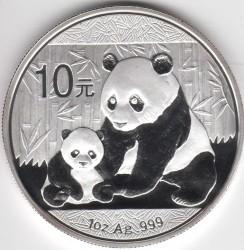 Moneta > 10yuan, 2012 - Cina  (Panda) - reverse