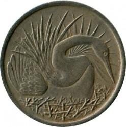 Монета > 5центів, 1967-1985 - Сінгапур  - reverse
