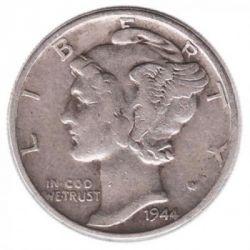 Moneta > 1dime, 1916-1945 - USA  (Mercury Dime) - obverse