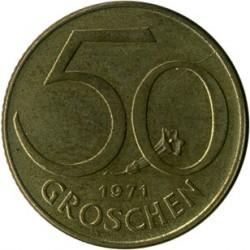 سکه > 50گروشن, 1971 - اتریش   - reverse