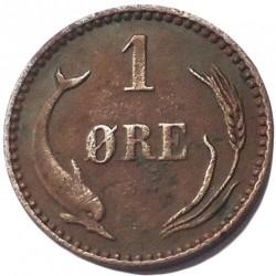 Moneda > 1öre, 1894 - Dinamarca  - reverse
