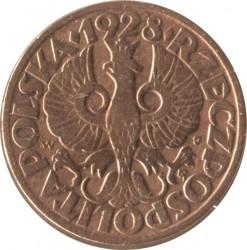 Монета > 5грошей, 1925-1939 - Польша  - obverse