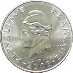 Монета > 50франков, 2007-2017 - Французская Полинезия  - obverse