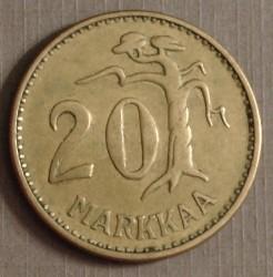 Münze > 20Mark, 1959 - Finnland  - reverse
