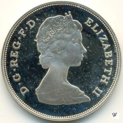 Moneta > 25pence, 1981 - Regno Unito  (Wedding of Prince Charles and Lady Diana) - obverse