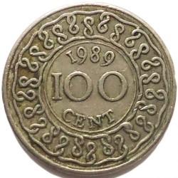 العملة > 100سنت, 1987-2015 - سورينام  - reverse