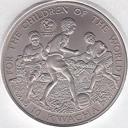 Moneta > 10kwacha, 2000 - Zambia  (UNICEF) - reverse