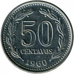 Moneta > 50centavos, 1957-1961 - Argentina  - reverse