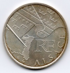 Moneda > 10euros, 2010 - Francia  (Regiones franceses - Alsacia) - obverse