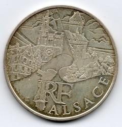 Moneda > 10euros, 2011 - Francia  (Regiones franceses - Alsacia) - obverse
