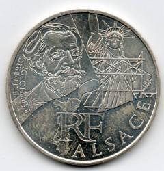 Moneda > 10euros, 2012 - Francia  (Regiones franceses - Alsacia) - obverse