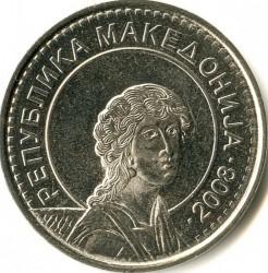 Moneta > 50denarų, 2008 - Makedonija  - obverse