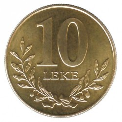Moneda > 10lekë, 1996 - Albania  - reverse