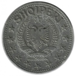 Moneda > 1lek, 1947-1957 - Albània  - obverse