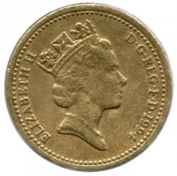 Munt > 1pound, 1994 - Verenigd Koninkrijk  - obverse