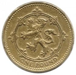 Munt > 1pound, 1994 - Verenigd Koninkrijk  - reverse