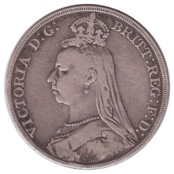 Moneta > 1korona, 1887-1892 - Wielka Brytania  - obverse