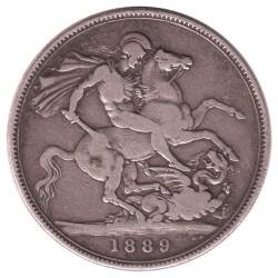 Moneta > 1korona, 1887-1892 - Wielka Brytania  - reverse