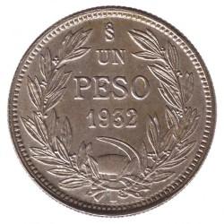 Münze > 1Peso, 1932 - Chile  - reverse