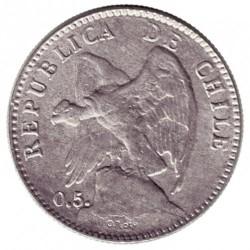 Moneta > 20centavos, 1899-1907 - Cile  - obverse