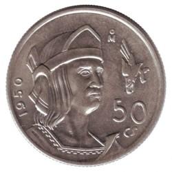 Münze > 50Centavos, 1950-1951 - Mexiko  - reverse