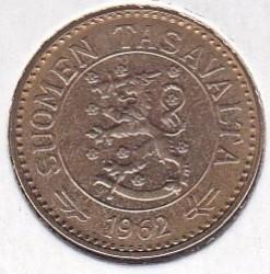Münze > 10Mark, 1962 - Finnland  - obverse