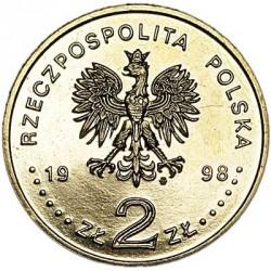Moneda > 2zlote, 1998 - Polonia  (80 aniversario - Independencia de Polonia) - obverse