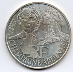 Moneda > 10euros, 2012 - Francia  (Regiones franceses - Champagne-Ardenne) - obverse
