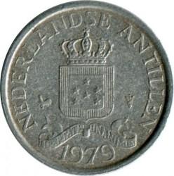 Moneta > 1centesimo, 1979-1985 - Antille Olandesi  - reverse