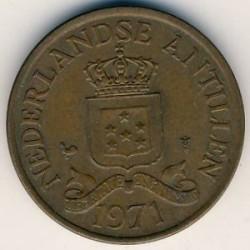 Moneta > 2½centesimi, 1970-1978 - Antille Olandesi  - reverse
