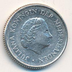 Moneta > ¼fiorino, 1954-1970 - Antille Olandesi  - reverse