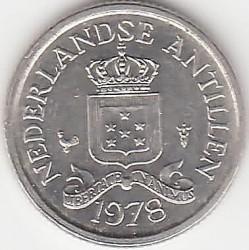 Moneta > 10centesimi, 1970-1985 - Antille Olandesi  - obverse