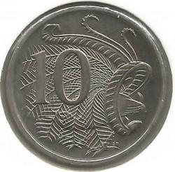 Coin > 10cents, 1999 - Australia  - reverse