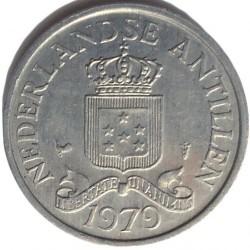 Moneta > 2½centesimi, 1979-1985 - Antille Olandesi  - obverse