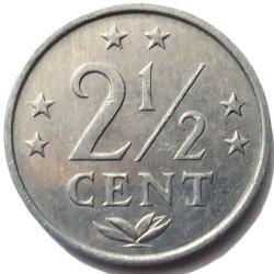 Moneta > 2½centesimi, 1979-1985 - Antille Olandesi  - reverse