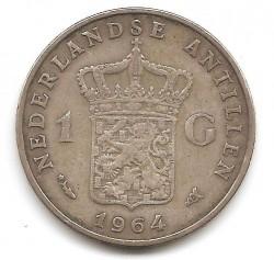 Moneta > 1gulden, 1952-1970 - Antille Olandesi  - obverse