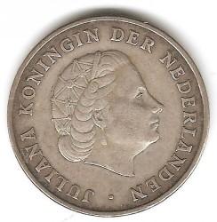 Moneta > 1gulden, 1952-1970 - Antille Olandesi  - reverse
