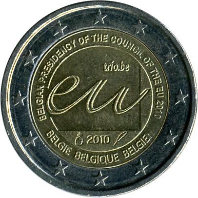 2 Euro 2010 Belgian Presidency Of The Council Of The Eu Belgien